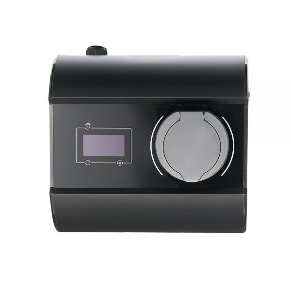 Black Scatalo Single EV charger