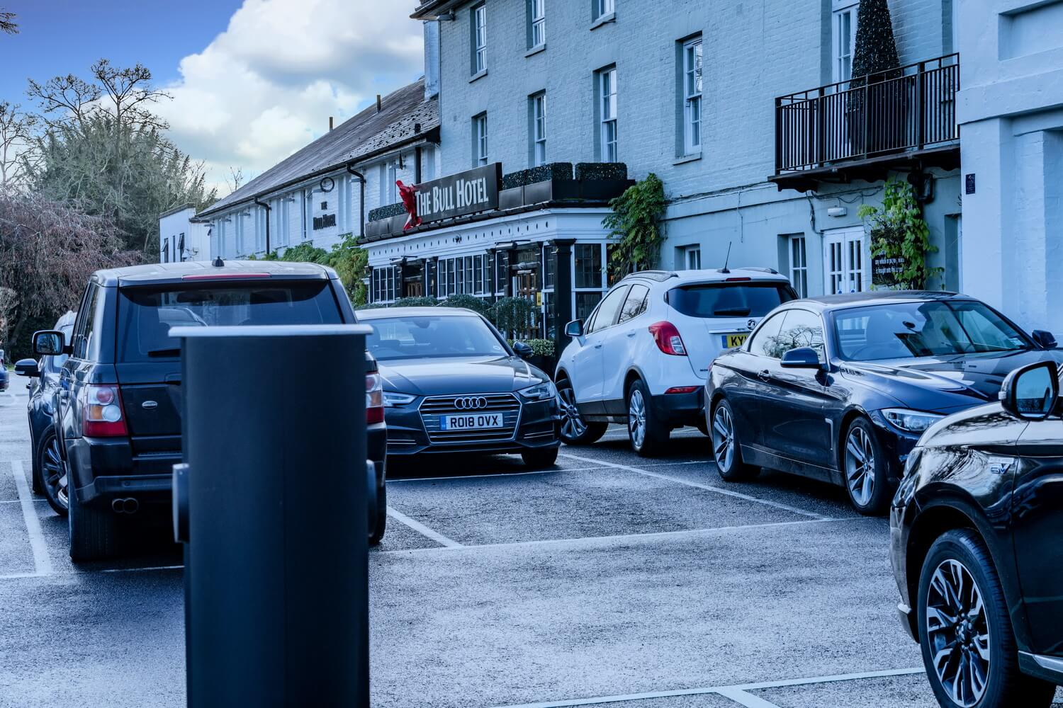 charging points for restaurants