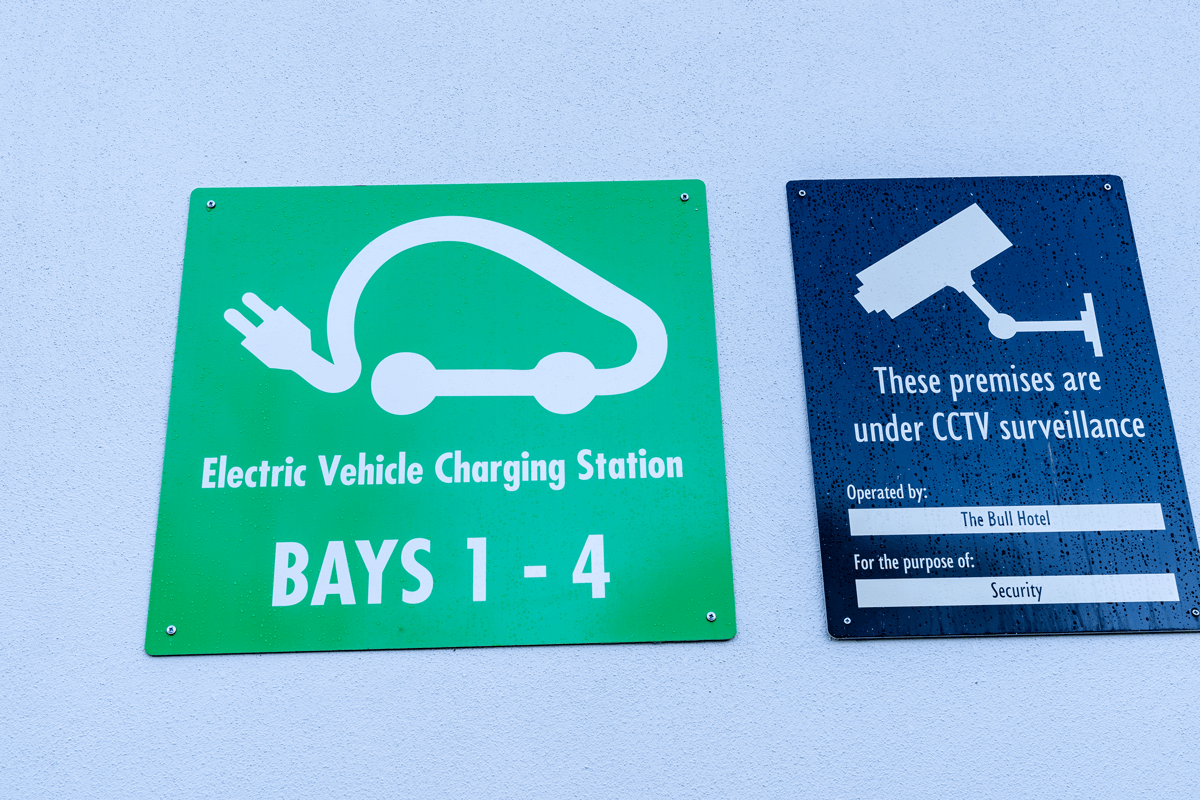 work ev charge point