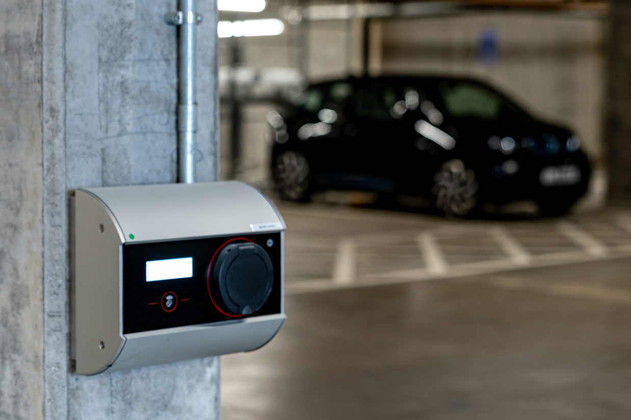 parking electric car charging
