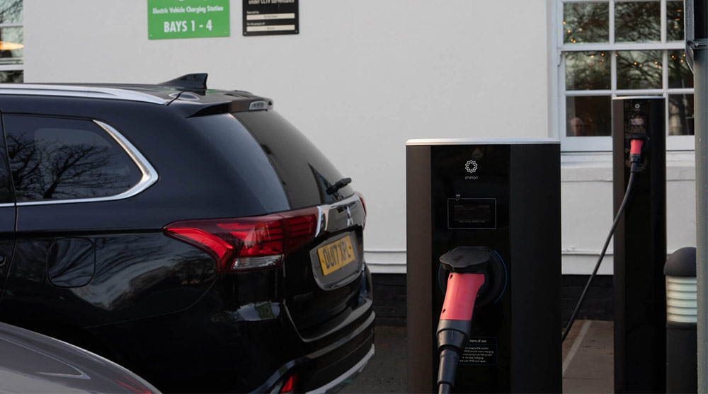 electric chargers for businesses