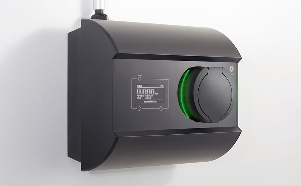 scatalo wall-mounted charger for evs