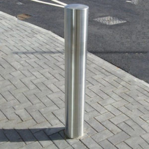 stainless-steel bollards