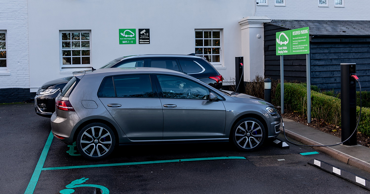 Outside EV Charging Point