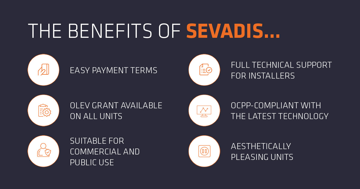 Electronic Cars, Sevadis Benefits, EV charging points