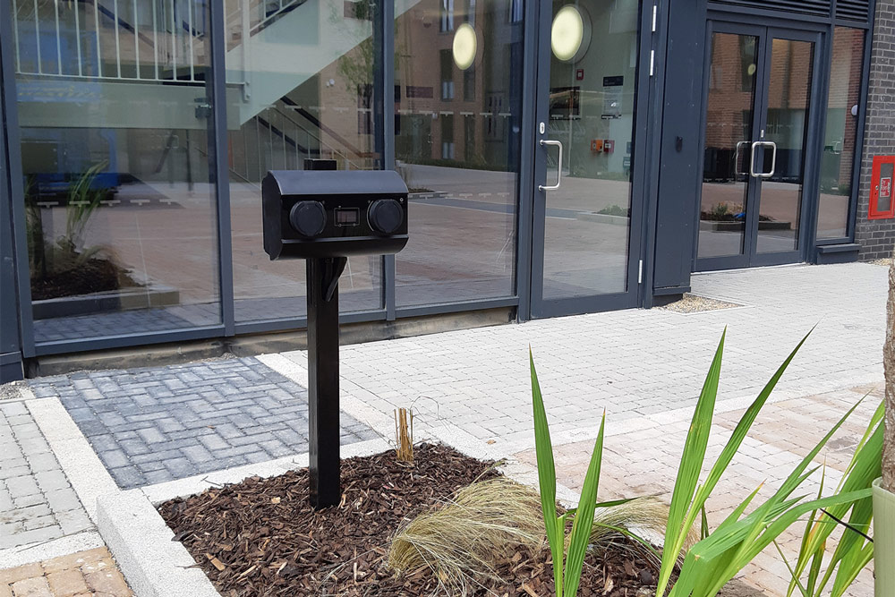 Parade Green Student Accommodation EV Charging Unit