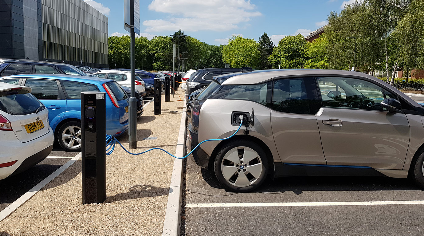 EV charging for employees