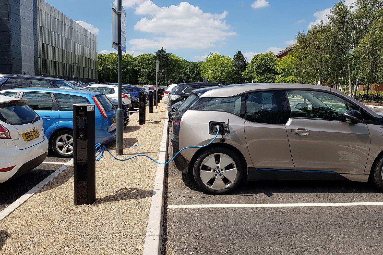 car park charging units