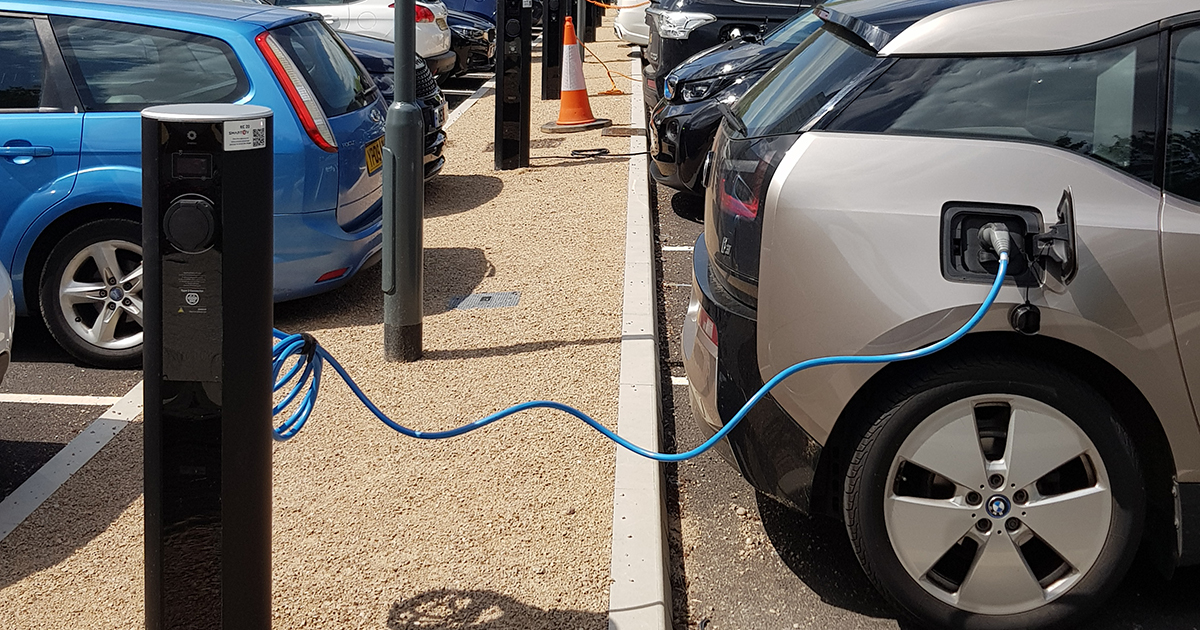 workplace ev charger