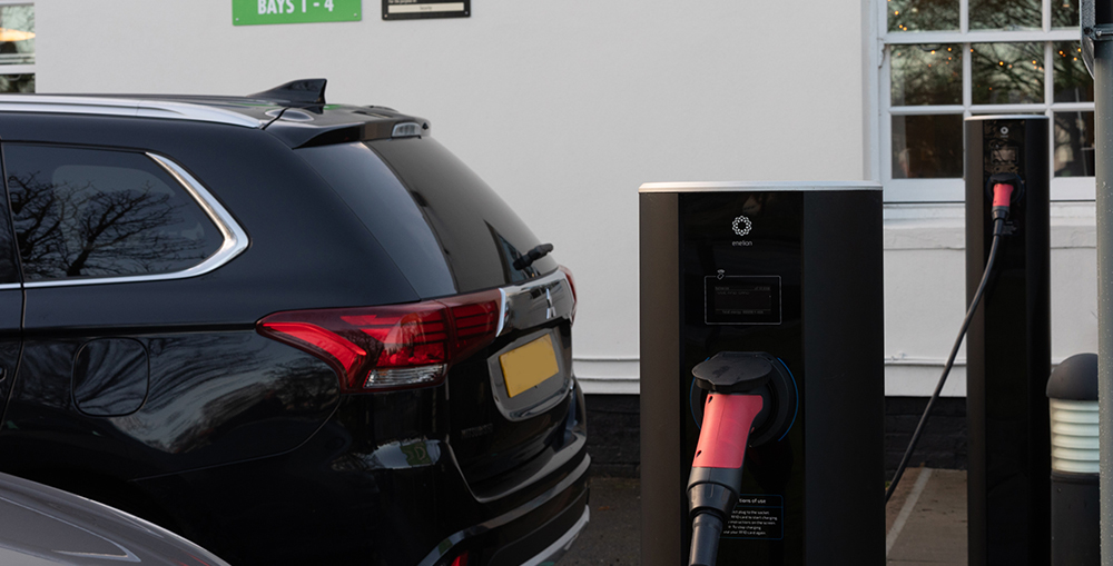 EV charging at hotels