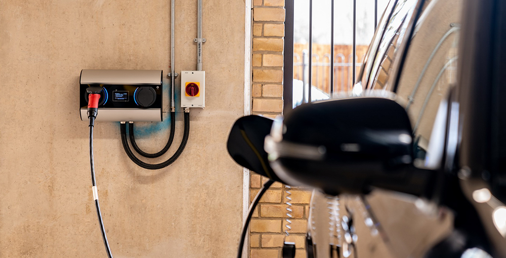 charging cars in residential property